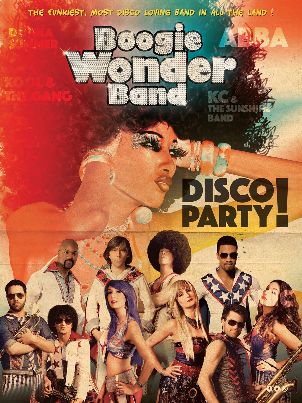 Boogie Wonder Band- Souper spectacle